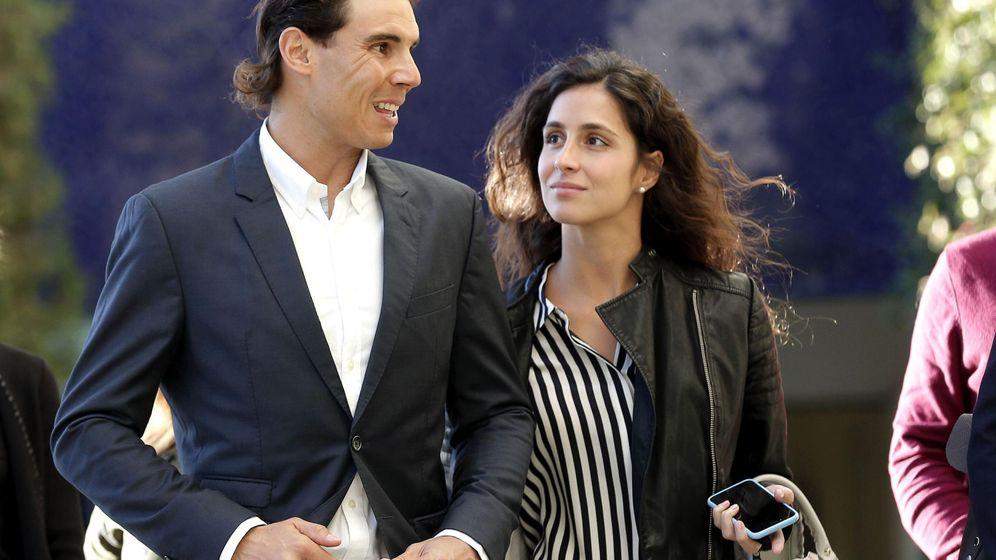 Foto: Rafa Nadal, con Xisca Perelló, en una imagen de archivo. (EFE)