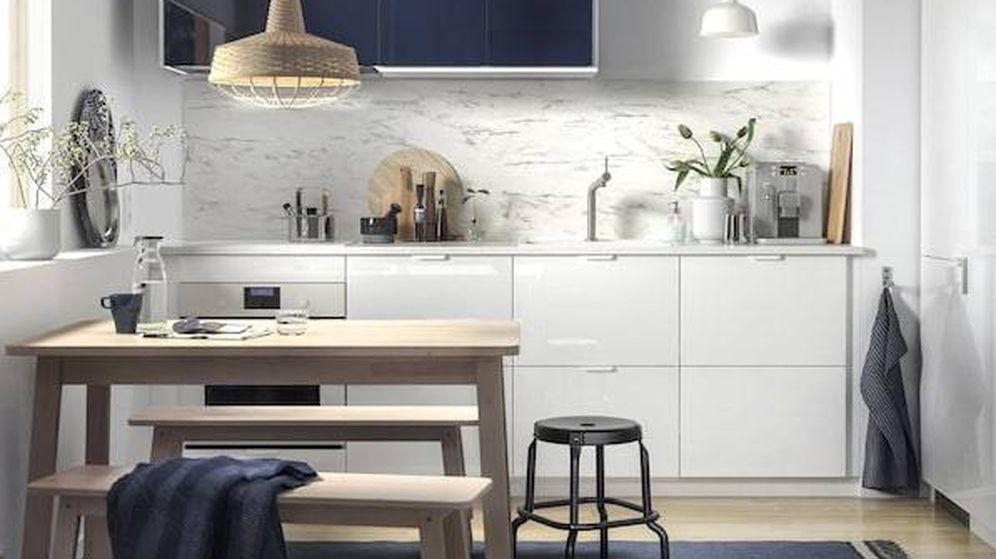 Foto: Cocina pequeña de Ikea. (Cortesía)