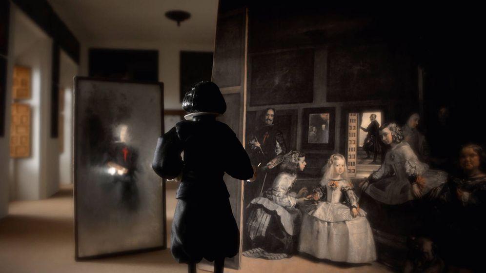 Foto: Andrés Sanz desentraña los misterios de la creación de 'Las meninas' en el documental 'El cuadro'. (Mare Films)