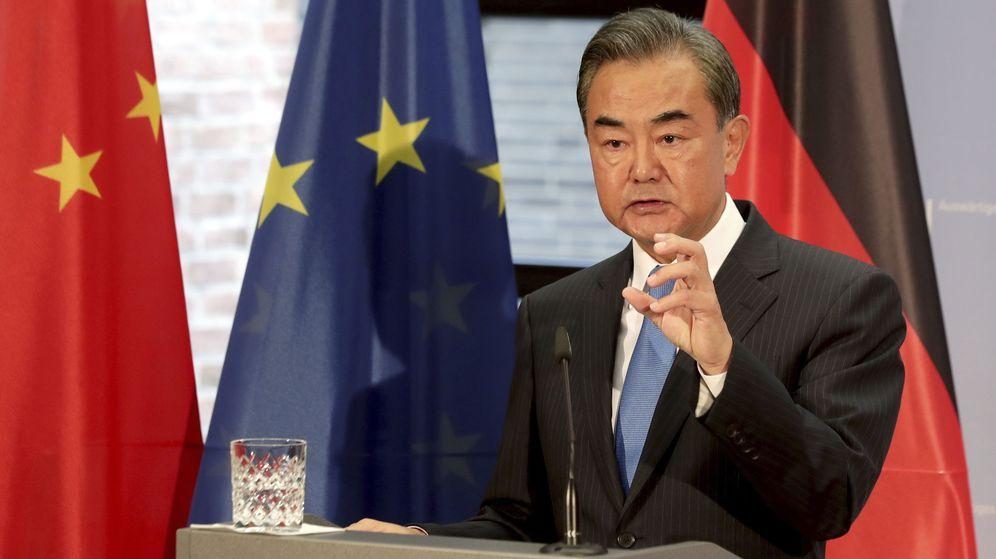 Foto: El ministro de Asuntos Exteriores chino, Wang Yi. (EFE)