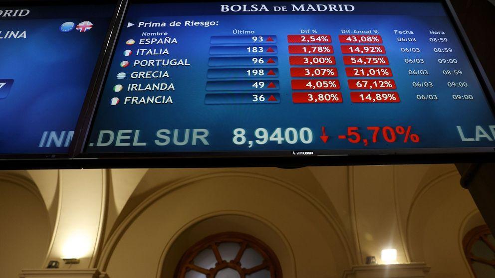 Los mercados enseñan los dientes y señalan a España y los países del sur