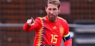 Post de El 'sí, quiero' de Sergio Ramos a Luis Enrique en las Islas Feroe