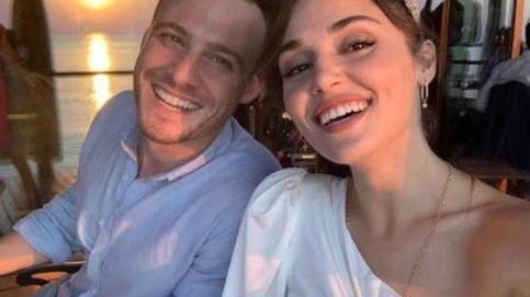 El cumpleaños solidario de Kerem Bürsin ('Love is in the air'), con tartazo de su novia