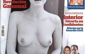 Julie Gayet, la amante del presidente Hollande, al desnudo