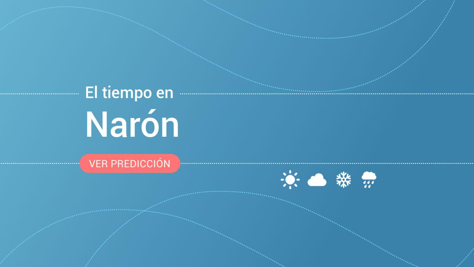 Foto: El tiempo en Narón. (EC)