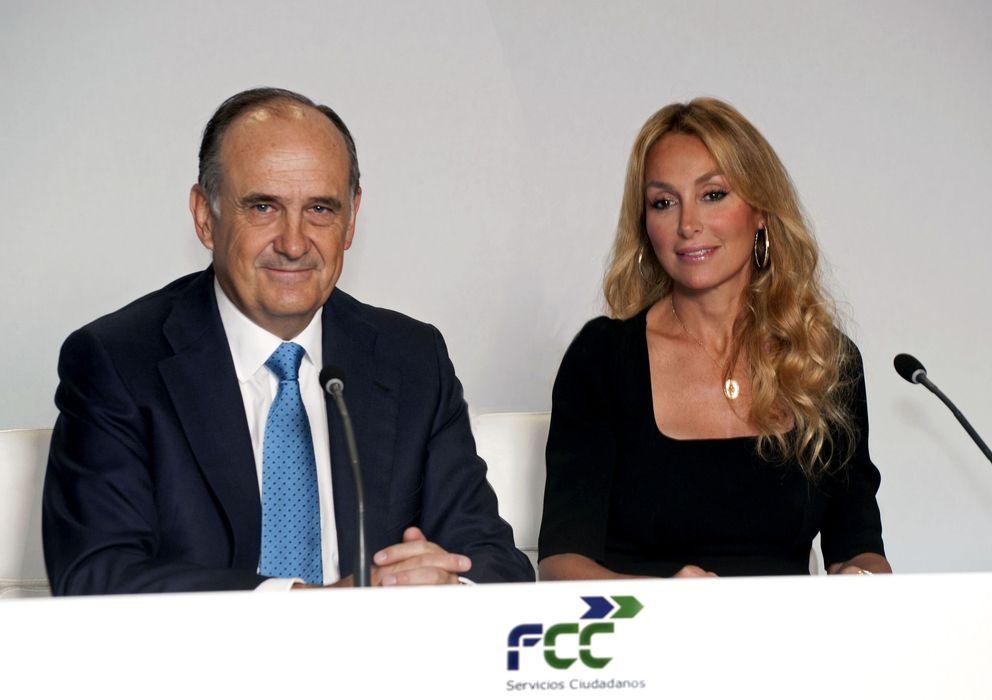 Foto: El consejero delegado de FCC, Juan Béar, y la presidenta Esther Alcocer Koplowitz