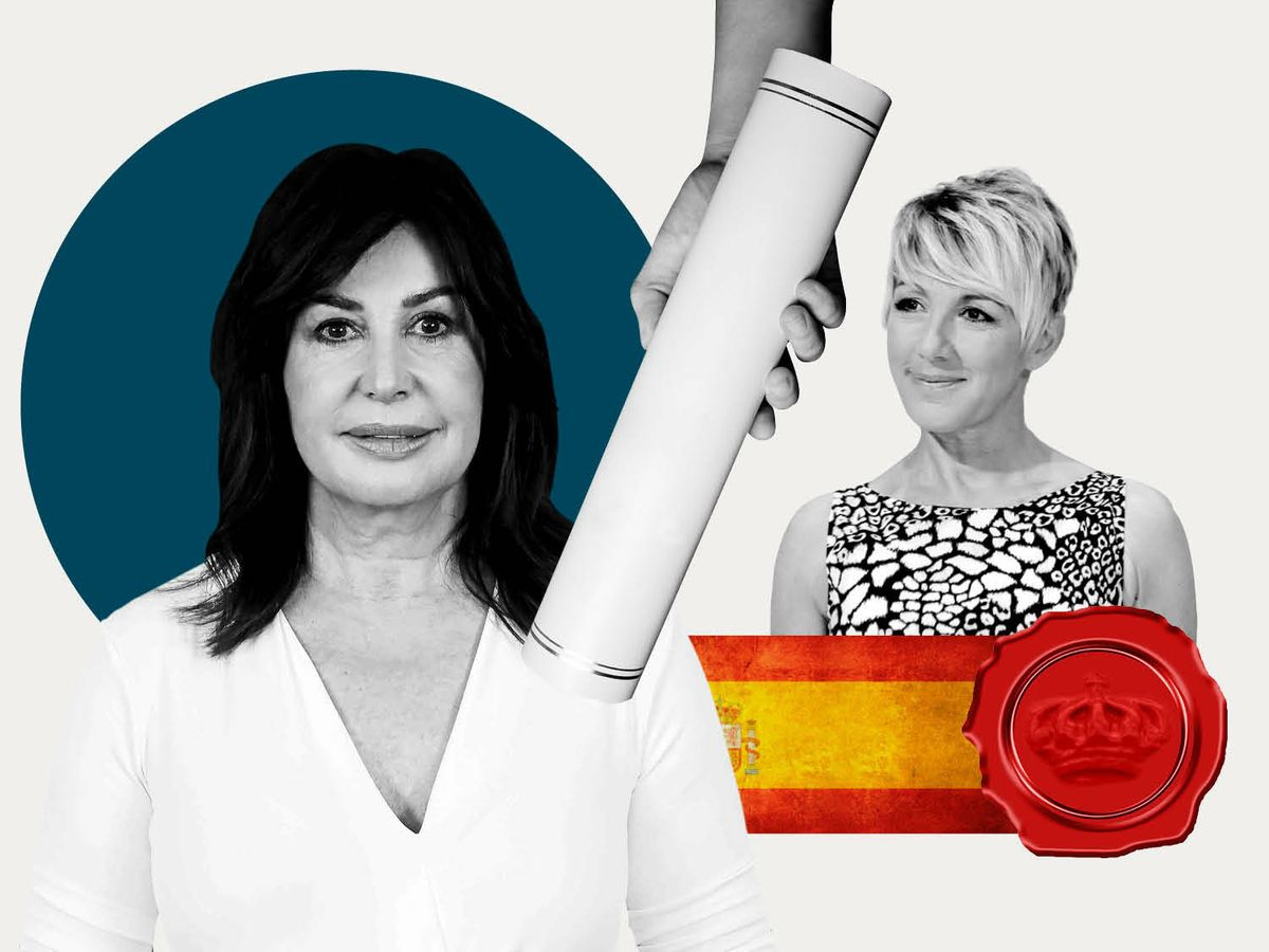 Foto: Carmen Martínez-Bordiú y Ana Torroja. (Ilustración: Vanitatis)