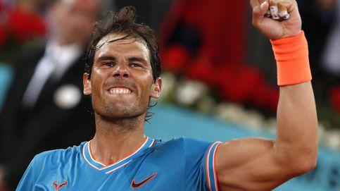 Huracán Nadal: abusa de Wawrinka y ya está en semis de Madrid