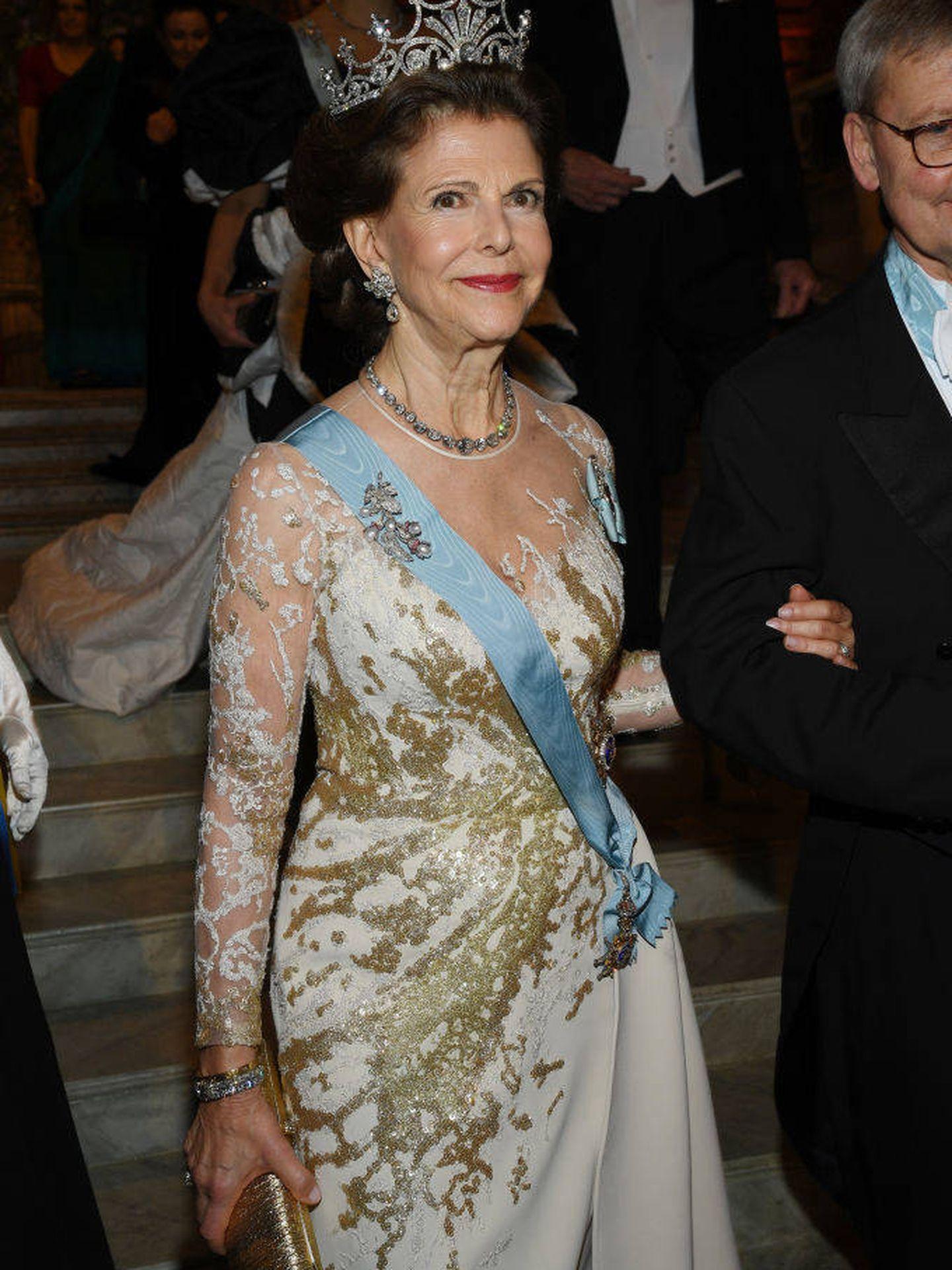 La reina Silvia, en 2019. (Getty)