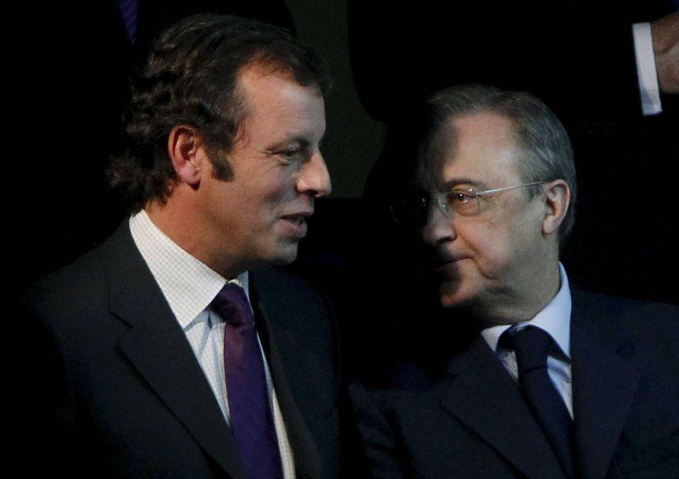 Foto: Sandro Rosell y Florentino Pérez, en una imagen de archivo.