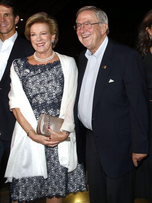 Foto: Constantino y Ana María, durante la celebración de sus bodas de oro en Grecia (Gtres)