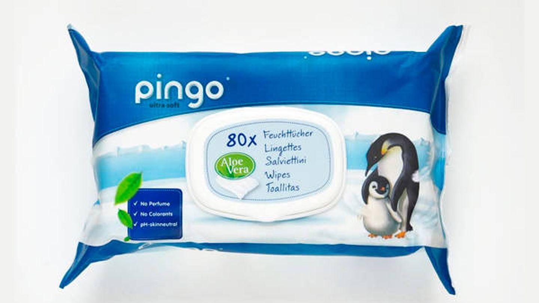 Toallitas de celulosa libre de químicos Pingo