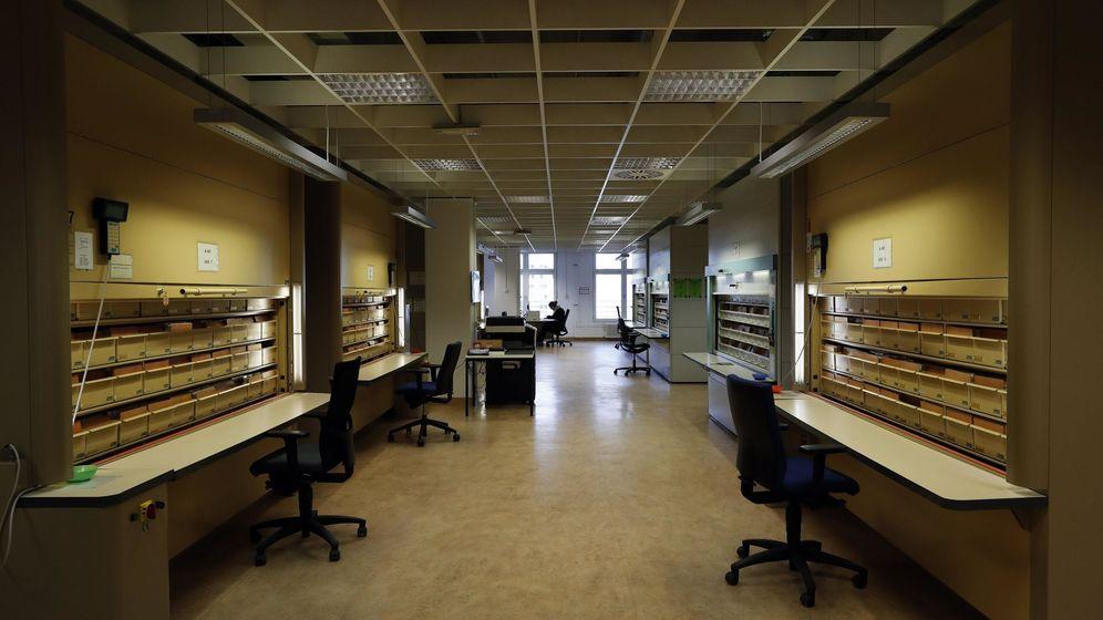 Foto: Archivos de la Stasi en Berlín. (EFE)