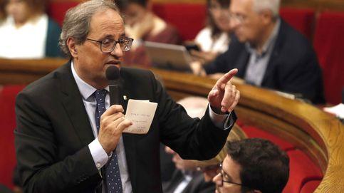 Quim Torra reitera su apoyo a los CDR en sede parlamentaria
