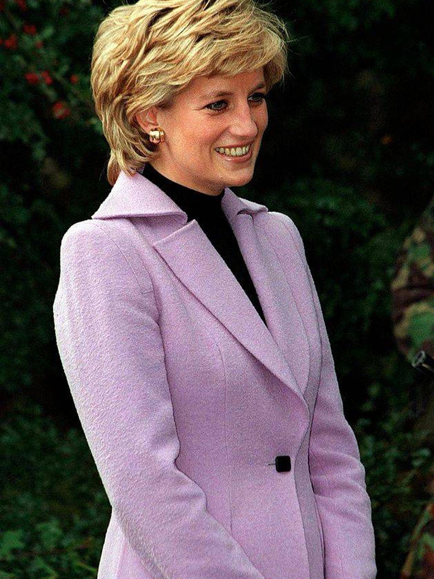 Lady Di, en una imagen de los años 90. (Getty)