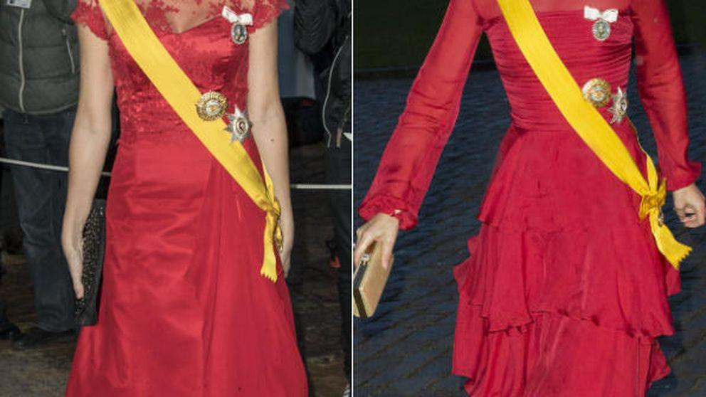 Mary y Marie de Dinamarca se ponen 'flamencas' para cenar con la Gaviota