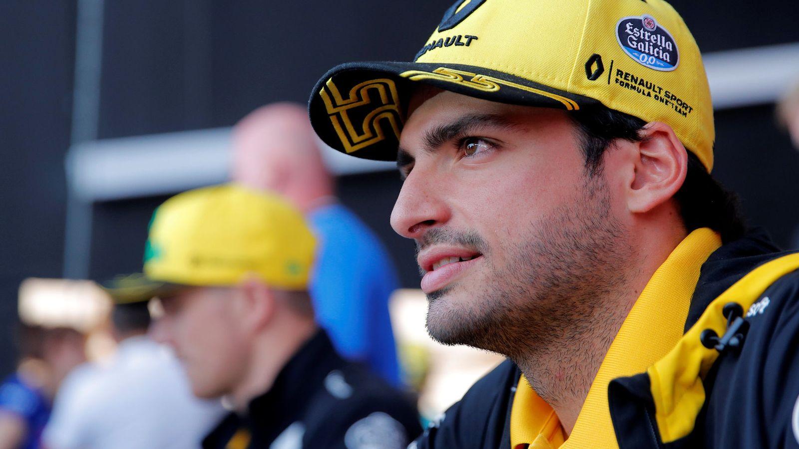 Foto: Carlos Sainz buscará dejar una buena imagen en las tres últimas carreras que faltan. (Reuters)