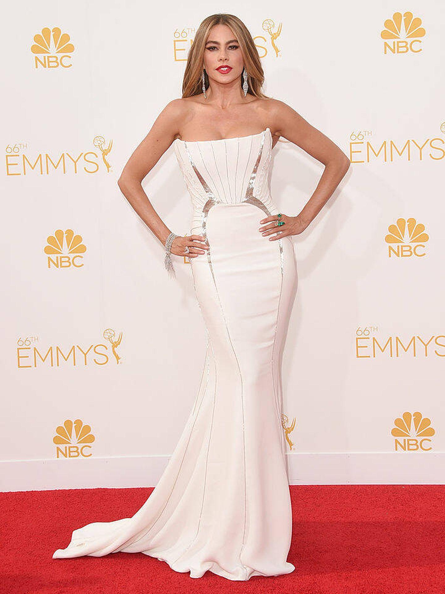 Sofía Vergara en los Premios Emmy 2014. (Getty Images)