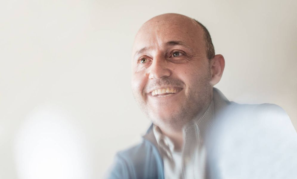 Foto: Álvaro Ramos durante la entrevista con El Confidencial. (Jorge Álvaro)