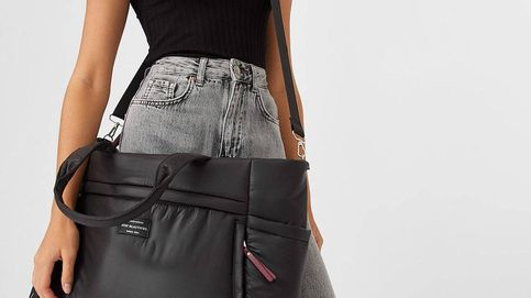 El tamaño sí importa para Stradivarius y este bolso tote es la prueba definitiva