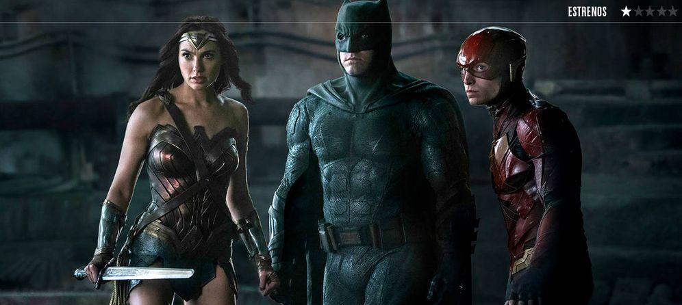 Foto: Wonder Woman, Batman y Flash, en una imagen de 'La liga de la justicia'. (Warner)