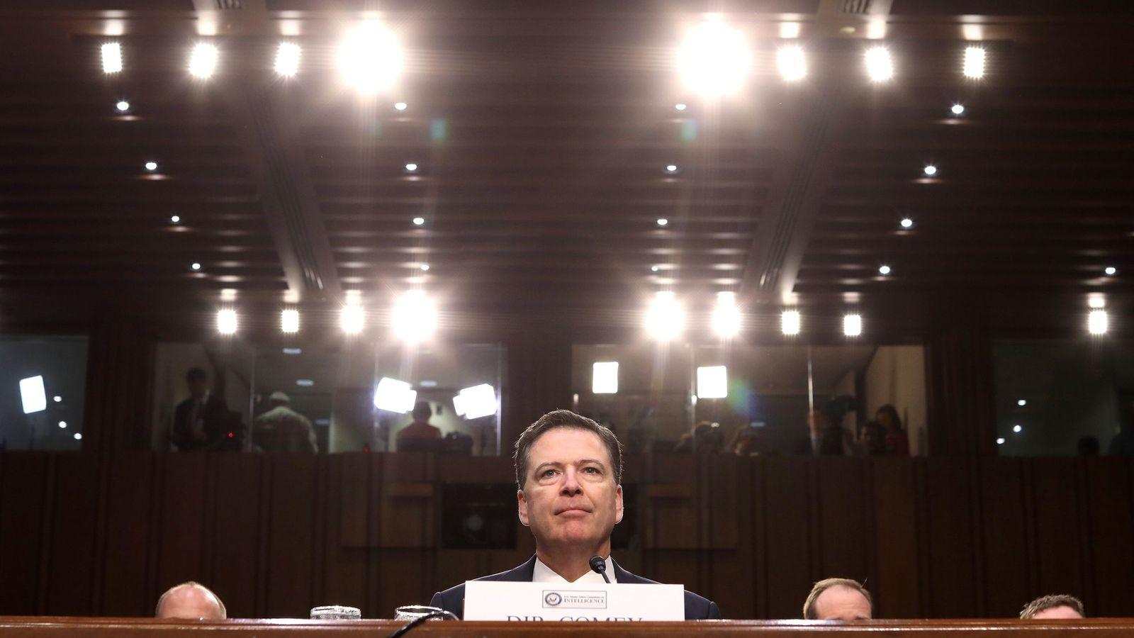 Foto: El exdirector del FBI James Comey. (Efe)