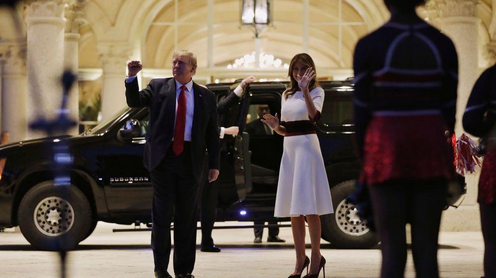 Foto: El presidente Donald Trump y la primera dama Melania Trump. (Reuters)