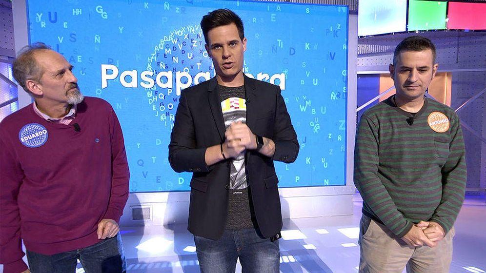 Foto: Christian Gálvez explica por quéAntonio ha abandonado 'Pasapalabra'. (Telecinco)