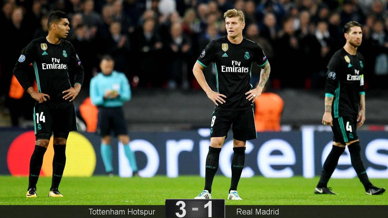 Foto: El Madrid cambió de sistema... y fue peor. (EFE)