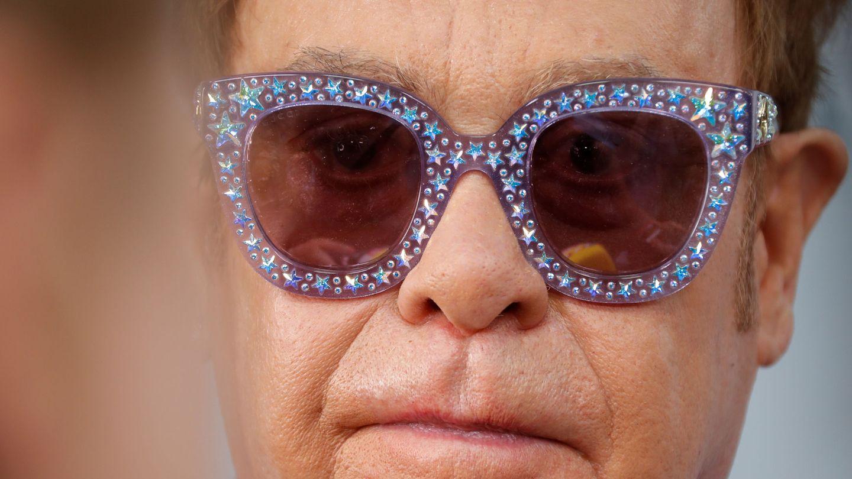 Elton John, en una imagen retrospectiva. (Reuters)