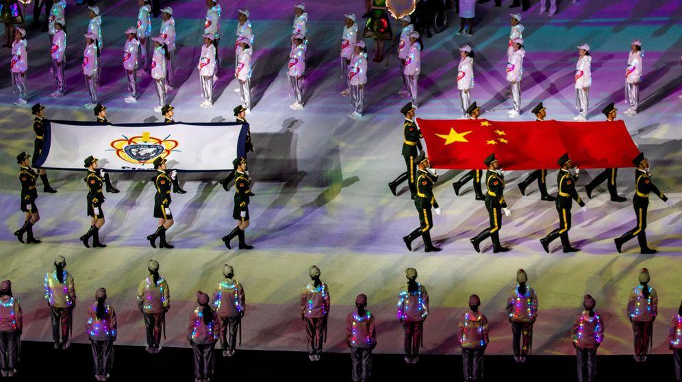 Foto: Los Juegos Mundiales militares reunieron a 10.000 deportistas en Wuhan en octubre de 2019 (Reuters)