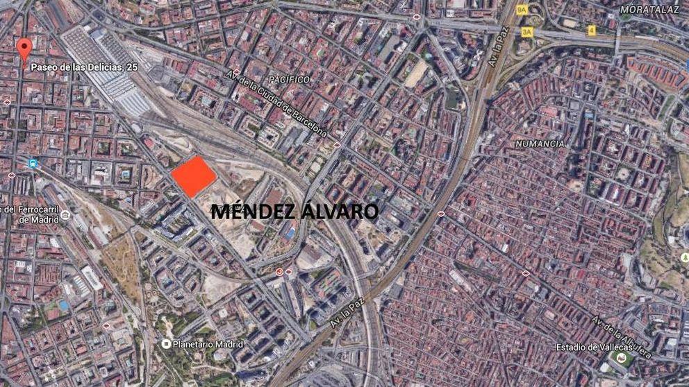 Adif y Repsol subastan por 27 millones la mayor parcela de suelo en Madrid