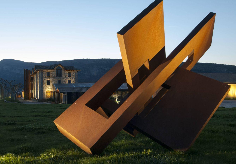 Foto: Bodegas Otazu es también una galería de arte en un entorno excepcional (Foto: Bodegas Otazu)