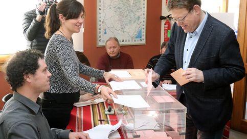 La participación en las elecciones valencianas supera por muy poco a la de 2015