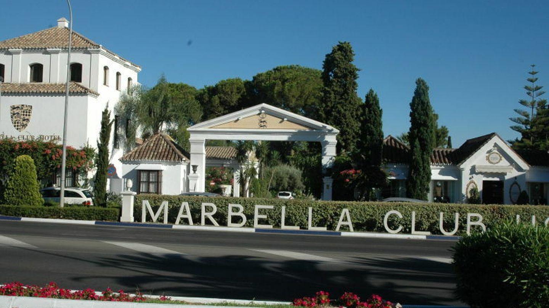Vista de la fachada de Marbella Club.