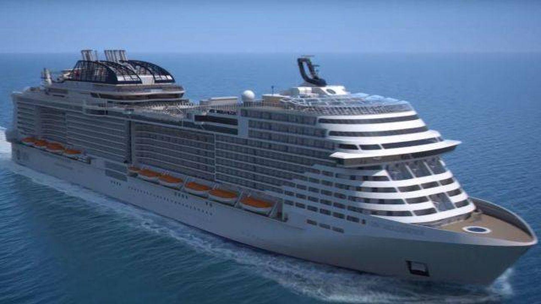 El crucero en el que Cuatro ha grabado 'First Dates'. (Mediaset)