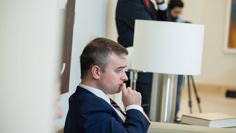 El director de Gabinete del presidente del Gobierno, Iván Redondo, en la Moncloa. (Jorge Álvaro Manzano)