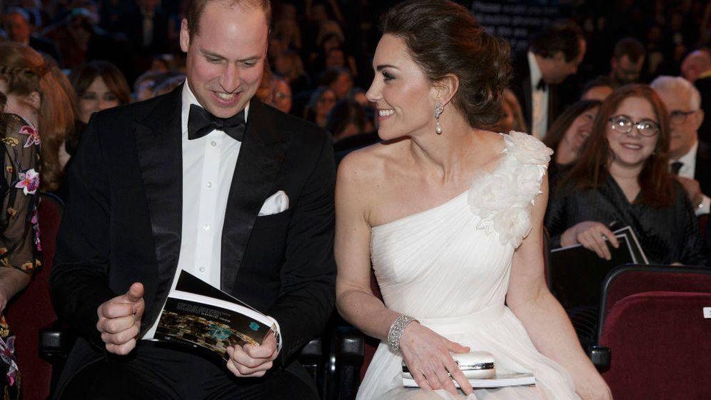 Foto: Kate Middleton y el príncipe Guillermo en una imagen de archivo. (Getty)