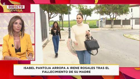 El programa de María Patiño aborda a Irene Rosales tras el entierro de su madre