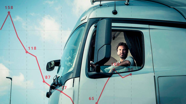 Infartos, amenazas y robos: camioneros, los 'riders' de los que nadie habla