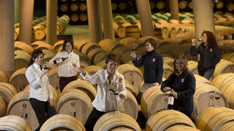 Las mujeres del vino: Cada día somos más. Hay olores que los hombres no detectan