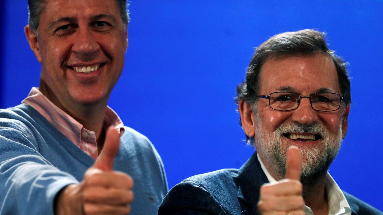 Mariano Rajoy y Xavier García Albiol (Efe)