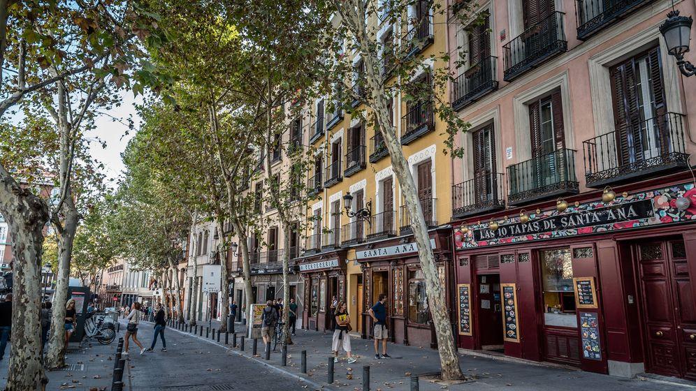 Foto: Plaza de Santa Ana en Madrid (Fuente: iStock)