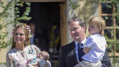 El bautizo de Adrienne de Suecia, en imágenes