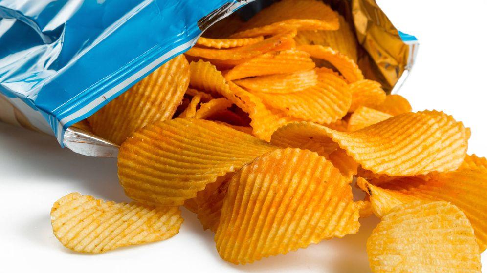 Foto: Una bolsa de patatas fritas chips. Foto: iStock.
