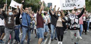 Post de Centenares de trabajadores de Nissan vuelven a manifestarse contra el cierre
