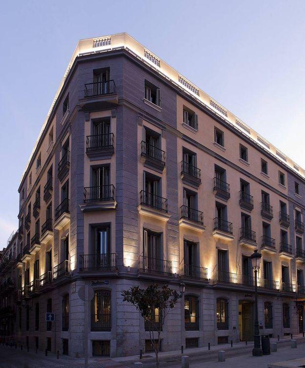 Foto: Edificio de Monthisa donde se encuentra el Hotel Radisson Blu en Madrid.