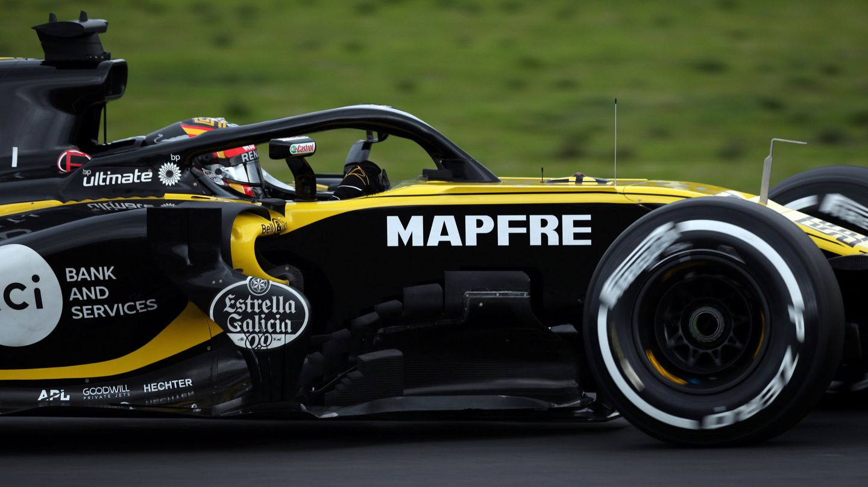 Carlos Sainz solo pudo dar 26 vueltas al circuito de Montmeló. (Reuters)