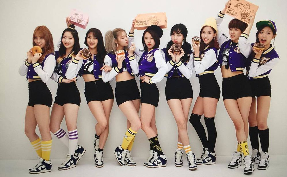 Foto: El grupo de K-pop surcoreano Twice