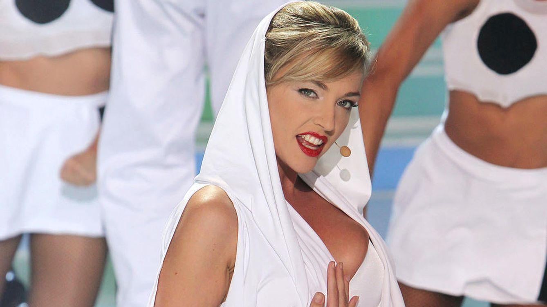 Foto: La presentadora Anna Simón, en una imagen de 'Tu cara me suena'